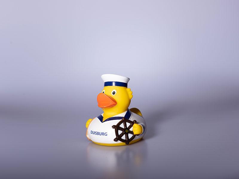 Bade-Ente Kapitän Duisburg