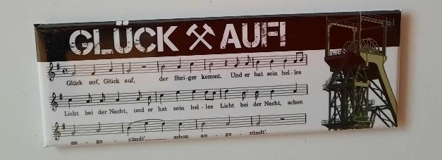 """Magnetpin """"Glück auf"""""""