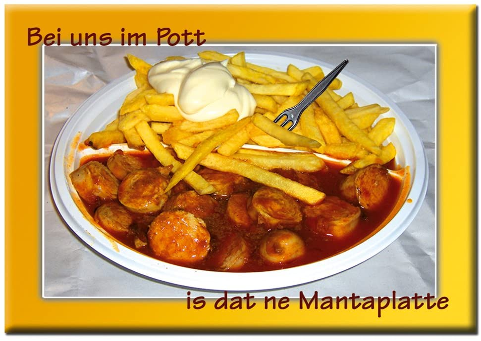 """Magnetpint """"Mantaplatte"""""""