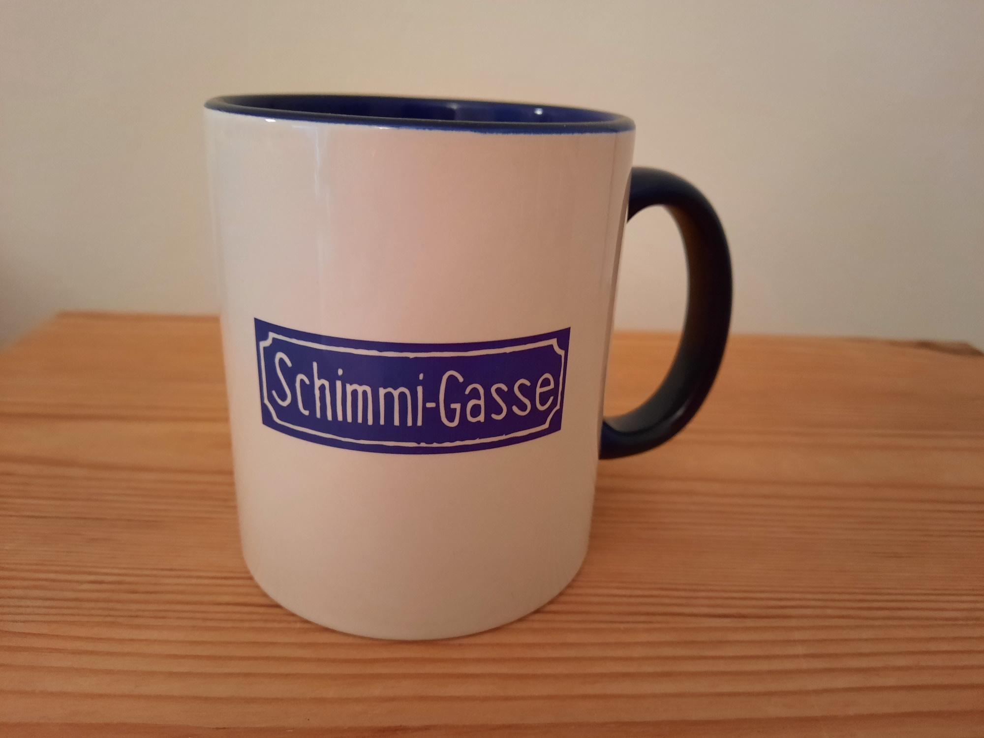 Kaffeetasse Schimmi-Gasse