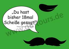 Thanner Postkarte (grün)