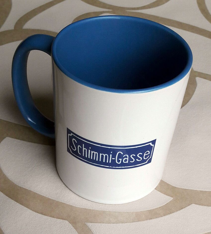 Kaffetasse Schimmi-Gasse